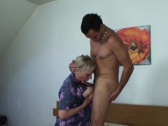 old granny moaning fucking young dick