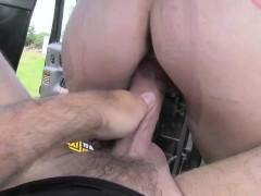 Carmel Anderson Enjoys A Backseat Sex