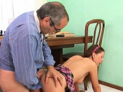 Lustful Teacher Is Pounding Fascinating Playgirl Senseless