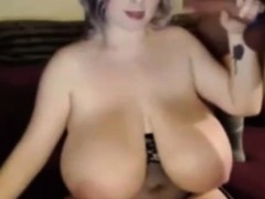 cute big titted bbw sucking huge big dick on webcam WWW.ONSEXO.COM