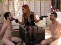 Creampied Mistress Licked