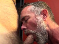 Mature Bear Barebacking