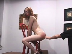 Hardcore Spanking For Pleasant Legal Age Teenager