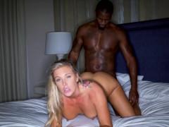 Blackedraw Blonde Trophy Wife Cucks Her Husband With Bbc