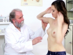 Nasty Old Doctor Fucks Timea Bela