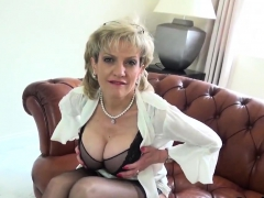 cheating british mature lady sonia flashes her massive hoote