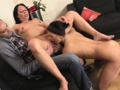 Old Couple And Teen Threesome Sex