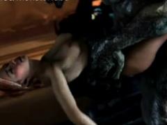 monster dick penetrated girl girls