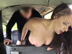 Slut Spanked And Banged In Taxi
