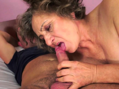 Mature Granny Gets Licked