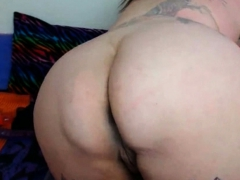 Beautiful Fat Woman Squirting And Choking On Dildo