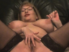 3 massive waterfall squirts from sexy granny