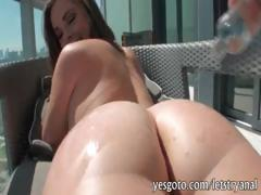 Slutty Babe First Time Anal Fucking And Cum Blasted