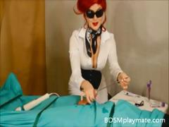 hot-mistress-gives-a-handjob-to-her-slave-until-he-cums