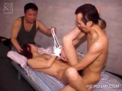 threesome-with-tied-up-asian-slave