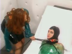 lesbo-mistress-sexually-tortures-slave