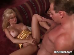 Gorgeous Busty Mature Blonde Gets That Part1
