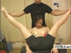 subtitled-female-japanese-kickboxer-sex-toy-foreplay