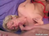 Mature busty slut getting satisfied part2
