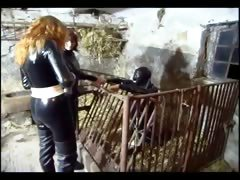 Two Dominas Punish Their Slave Badly