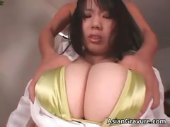 Nasty And Busty Asian Babe Gets Tit Part3