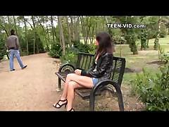 Teen Sandra First Videocasting