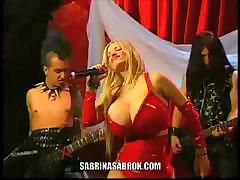 Sabrina Sabrok Hot Rocker Singer Largest Breast In The World