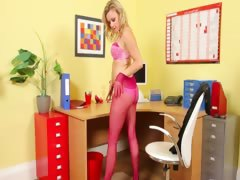 pink-panties-and-panyhose-with-teasing