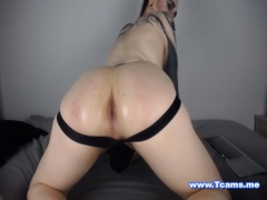 Gorgeous Tranny Twerking her Juicy Big Ass