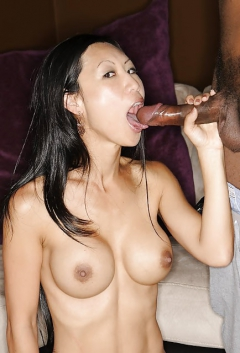 Was specially japanese chick deepthroat big black cock