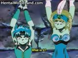 Nasty hot anime big boobed babe gets part2