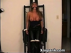 Horny Spanking Horny Girl In Bdsm