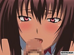 Hentai Girl Sucks And Gets Fucked Rough