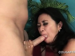 Sexy Excited Cougars Fucking Teen Pecker In Foursome
