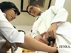 Subtitled Japanese Love Doll Doctor Showcases Prototype