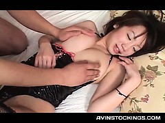 sex-toy-addict-jap-tramp-in-latex-cunt-licked-and-fingered