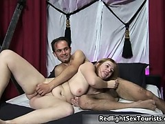 Nasty Brunette Slut Goes Crazy Riding Part4