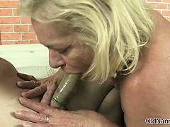 Nasty Granny Gets Horny Sucking Part4