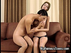 Breasty Mature Woman Seduces Teen Boy