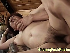 Hairy Granny Snatch Cleaned Out
