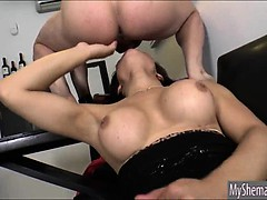 Sexy Shemale Danielly Colucci Intense Deep Anal Action