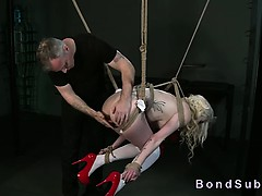 tied-up-suspended-blonde-hottie-anal-hooked