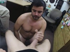 Straight Guy Shoots Gay Porn In A Pawn Shop!