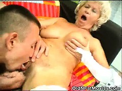 Cock Sucking Granny Gets Pussy Licked