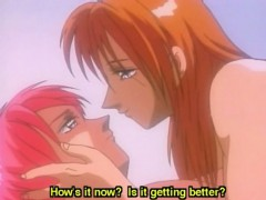 Redhead Hentai Lesbian Fingering And Licking Wetpussy