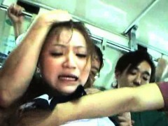 Teen Groped And Used In A Train