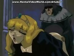 hentai princess is nailed by her slave