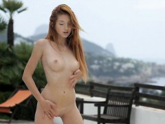 Gorgeous Teen Michelle Showing Off Her Hot Body Outdoors