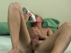 Sexy Twink James Rubbing His Feet And Smelling His Sneakers
