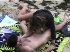 Candid Footage Of Wild Nudist Amateurs
